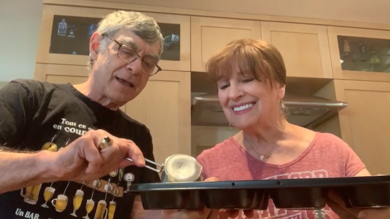 Mike and Myra cooking video